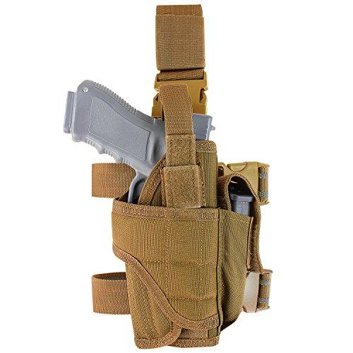 Condor Tornado Tactical Leg Holster Coyote Brown Fully adjustable
