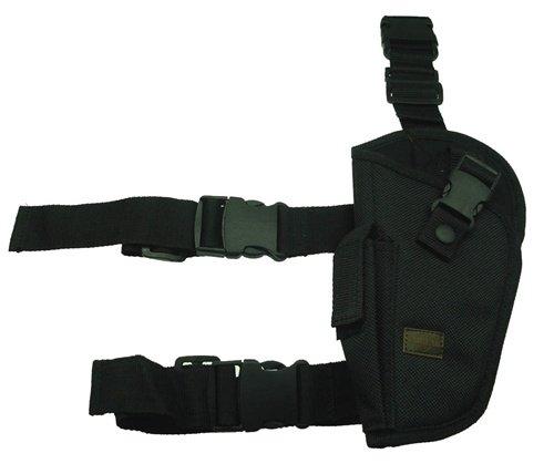 Elite Tactical Leg Holster Left Black