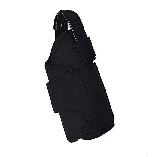 ZKer Molle Tactical Waist Belt Pistol Holster Concealed Holster Pistol Carry Bag Hidden Concealment Adjustable Right Hand Gun Handgun Holster Pouch