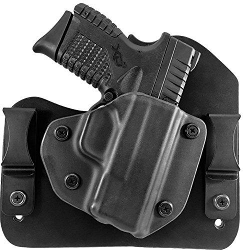 Springfield Armory XD-S 45 ACP 33 Single Stack IWB Hybrid Holster Right Hand Black