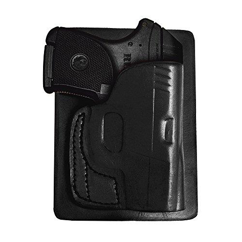 Tagua Gunleather S&W Bodyguard 380 PK5 Back Pocket Gun Holster Black Right Hand