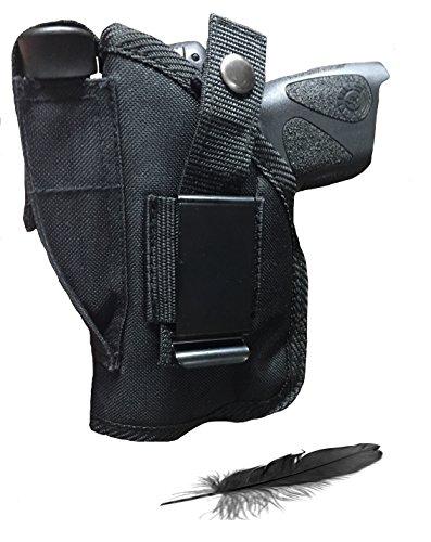Fits Taurus Millennium Pro PT-745 PT-140 PT-145 PT-111 PT-138 58 609TI 909 247 Compact With Soft Nylon Inside or Outside The Pants Gun Holster