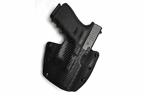 Advanced Performance Shooting Holsters Protective Services Elite OWB Black Carbon Fiber