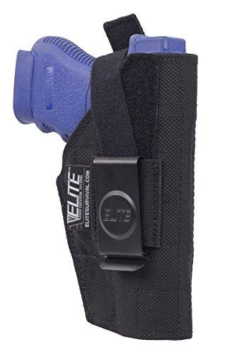 Elite IWB Concealment Holster for compact Glock Sig Sauer Beretta Taurus Springfield more