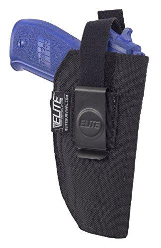 Elite IWB Concealment Holster for full size Glock Sig Sauer Taurus Beretta Springfield more