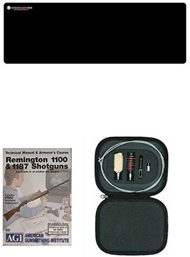 AGI DVD Manual Armorers Course Remington 1100 1187  Ultimate Arms Gear Gun Mat  12 Gauge Cleaning Kit