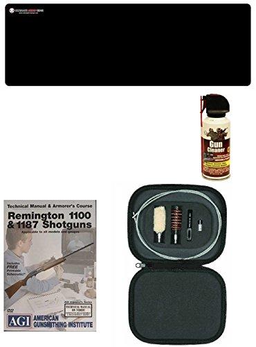 AGI DVD Manual Armorers Course Remington 1100 1187  Ultimate Arms Gear Gun Mat  12 Gauge Cleaning Kit  Gun Cleaner
