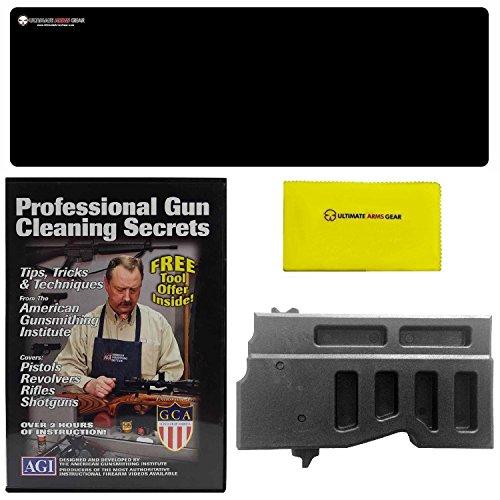 AGI DVD Professional Gun Cleaning Course Secrets AK47 AK-47 AK74 Mac-90 PSL 762x39 Rifle  Ultimate Arms Gear Gunsmith Armorers Bench Gun Mat  Gun Care Cloth  Lower Mag Action Block