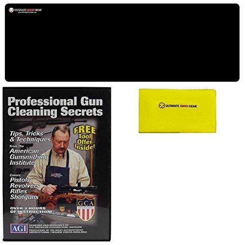 American Gunsmithing Institute DVD Professional Gun Cleaning Course Secrets CZ75 CZ-75 CZ52 CZ-52 Pistol Handgun  Ultimate Arms Gear Gunsmith Armorers Cleaning Bench Gun Mat  8 pc Steel Punch Center Tool Set Kit Sizes 116 332 18 532 316 732 1