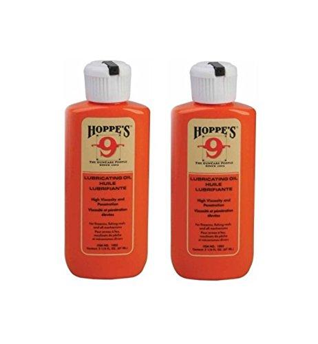 2-Pack Hoppes No 9 Lubricating Oil 2-14 oz Bottle