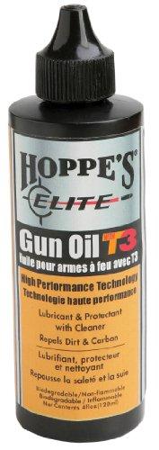 Hoppes Elite Gun Oil with T3 4-Ounce Bottle
