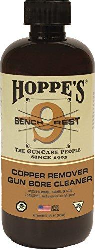 Hoppes No 9 Bench Rest Copper Gun Bore Cleaner 16 oz Bottle