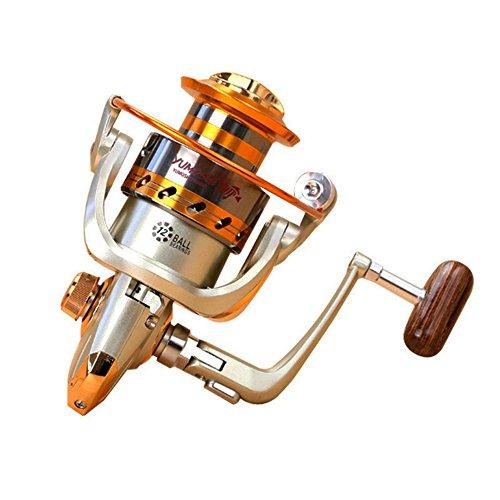 Goswot Leftright Interchangeable 12BB Ball Bearing Saltwater Freshwater Fishing Spinning Reel EF7000