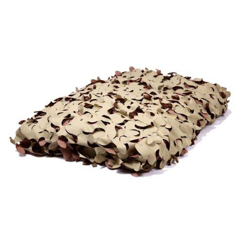 20ftx10ft Desert Camouflage Netting - Fire Retardant Camo Net