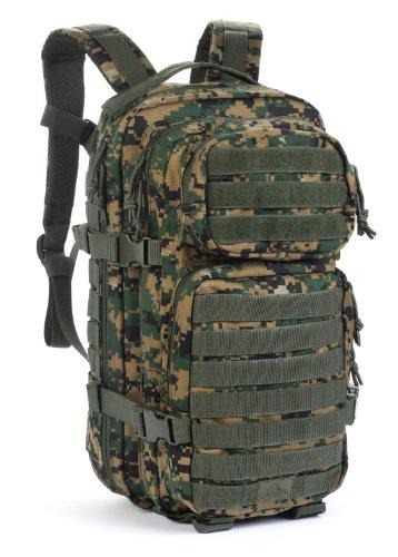 Red Rock Outdoor Gear Assault Pack Medium Woodland Digital Camouflage