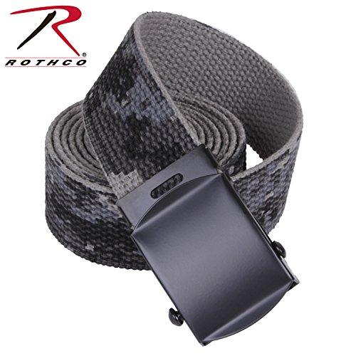 Rothco Reversible Web Belt Subdued Urban Digital Camo 54