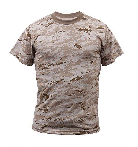 Rothco T-Shirt Desert Digital Camo 3X