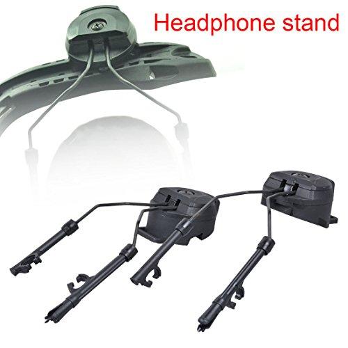 Alpertie Peltor Comtac III ARC AdapterTactical Helmet Rail Suspension Headset Support
