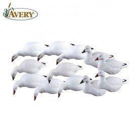 GHG Pro-Grade Harvester Pack Snow Goose Shell Goose Decoy Pack of 12