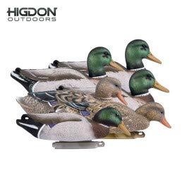 Higdon Outdoors Magnum Mallard Duck Decoys All Drakes