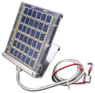 Boss Buck Drum Mount Solar Panel Black 12-volt