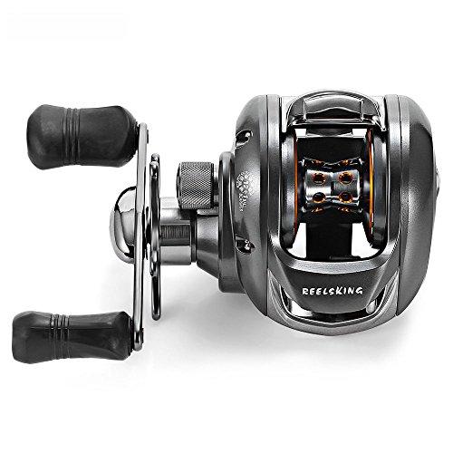 XZX Fishing Reel 12  1BB Stainless Steel Smooth Ball Bearings 62 1 Gear Ratio Ultra-Light Bait Reel LEHT HAND