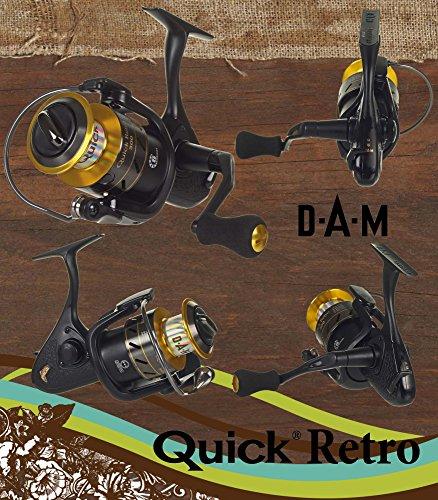 DAM Quick Retro 100 FD - Frontdrag Spinningreel