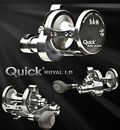 DAM Quick Royal LD 50 RH - 2 gear Multiplier reel Righthand