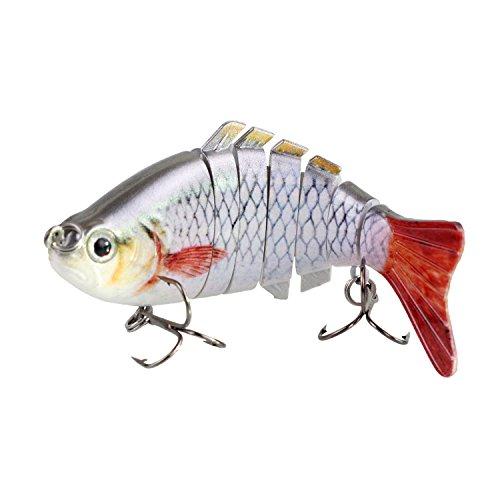 Modenpeak HJ-7S02 7 Segment Swimbait Lures Crankbaits Baits Hard Bait Fishing Lures 4 08oz