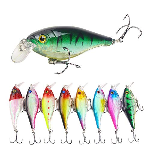 Laser 90Mm 125G Chilly Stick Floating Fishing Lure Shallow Diving Hard Artificail Bait