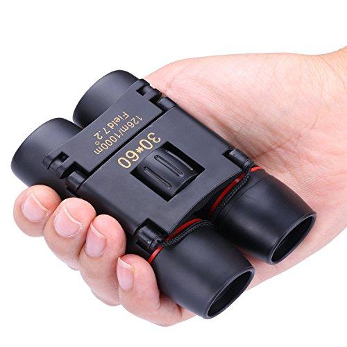 Binoculars for Girls Boys DIMY Compact 8x21 Mini Small Telescopes Pocket Black DL07