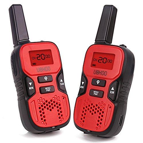 Walkie Talkies for Kids 2 Way Radio Walkie Talkies 2 Miles Up to 3Miles Handheld Mini Walkie Talkies for Kids Toys for 5-year old Boys and Girls 1 Pairred
