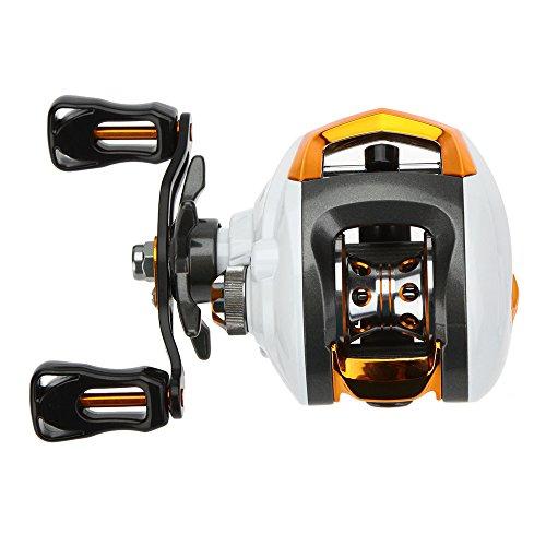 Lixada Baitcasting Fishing Reel 121 Ball Bearings 631 Gear Ratio High Speed Baitcast Baitcaster Reels with Magnetic Brake System