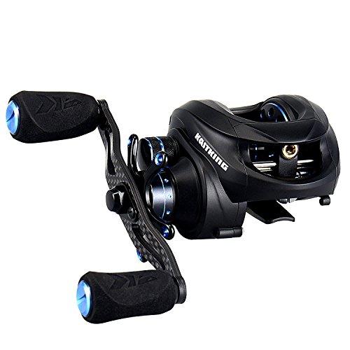 NEW KastKing Assassin Carbon Baitcasting Reel Only 57 OZ 165 LB Carbon Fiber Drag 111 BB Dual Brakes Our Lightest Baitcaster Fishing Reel Affordable Right Handed