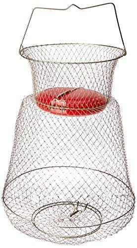 KUFA SPORTS Floatable Galvanized Wire Fish Basket Gold Medium13 x 18