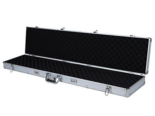 TMS 53 Long Aluminum Locking Rifle Gun Case Shotgun Storage Box Carry Case w Keys