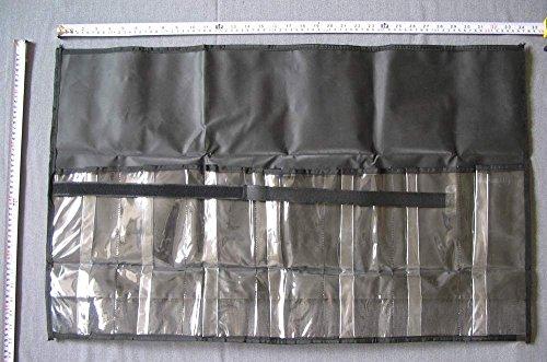 34 X 12 Roll-Up 7-Pocket Lure Bag - Black - 2 pcs