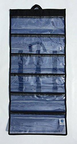 Nantucket Bound 6 Pocket Medium Big Game Roll Up Lure Bag 15