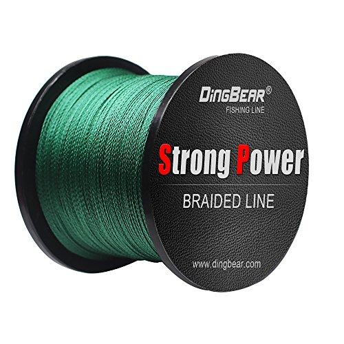 Dingbear 437Yd400M 85LB045mm Dark Green Super Strong Pull Generic Braided Fishing Line Fishing Lines FishLines FishingLine