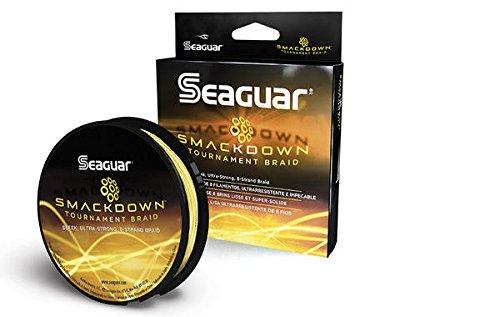 Seaguar  Smackdown Braided Fishing Line Hi-Vis Yellow 65-Pound150-Yard