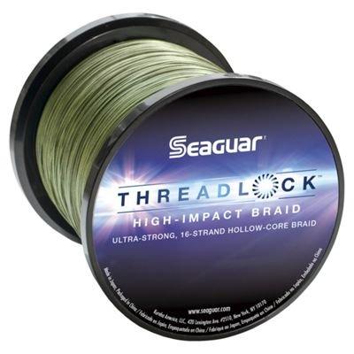 Seaguar  Threadlock Braided Fishing Line Hi-Vis Yellow 60-Pound2500-Yard