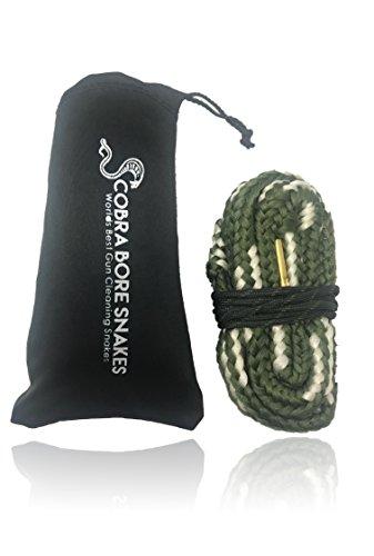 Cobra Bore Cleaning Snake for 20 Gauge Shotguns - Automatic Pump and Single Shot Guns Bore Snakes