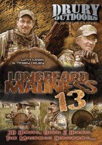 Drury Outdoors Longbeard Madness 13 Turkey Hunting DVD