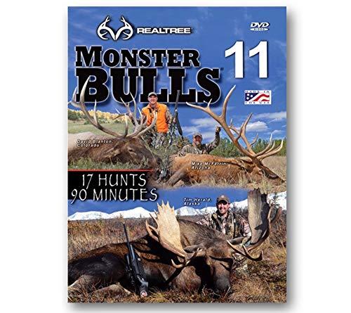 Monster Bulls 11  REALTREE  Whitetail Deer Hunting DVD NEW
