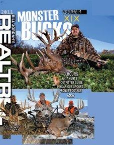 Realtree Monster Bucks XIX Volume 1- Deer Elk Big Game Hunting Video DVD Collection Production XIX - Volume 1