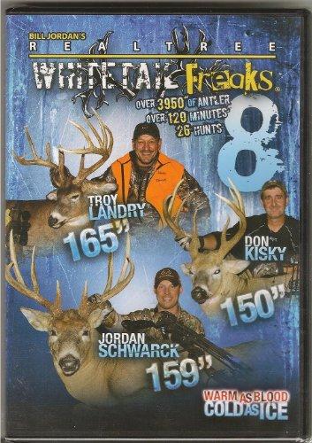 Whitetail Freaks 8  REALTREE  Bill Jordan  Whitetail Deer Hunting DVD NEW