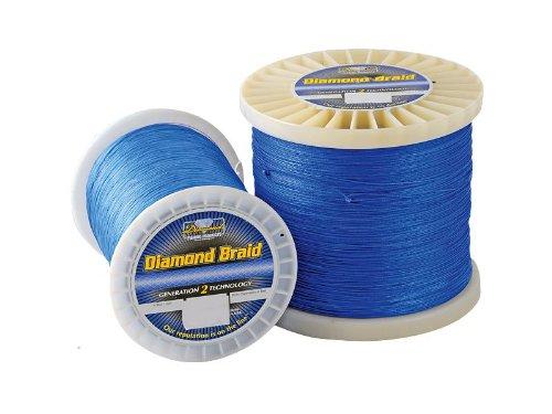 Momoi Diamond Braid Spectra - 300 yd Spool - 80 lb - Solid - Orange