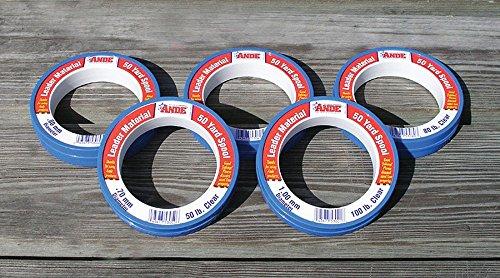 Ande Premium Monofilament Leader - 125 lb - 100 yd - Clear