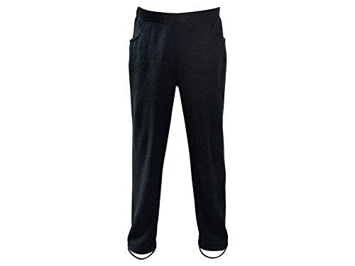 MidwayUSA Mens Eagle Bluffs Fleece Wader Pants Black 3XL