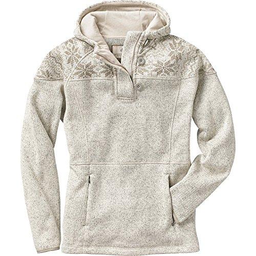 Legendary Whitetails Ladies Atomic Fleece 14 Zip Hoodie Winter Heather Large